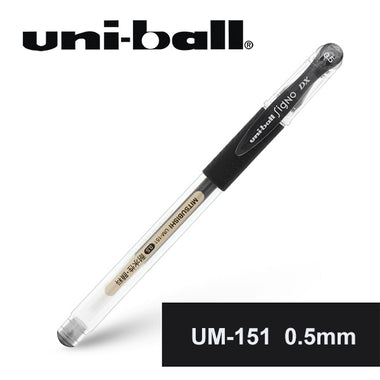 Mitsubishi Uni-ball Signo UM-151 Gel Pen 0.5mm Black
