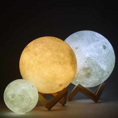 Moon Lamp (Touch Control)