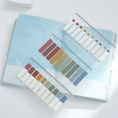 Morandi and Pastel Colors Index Tab