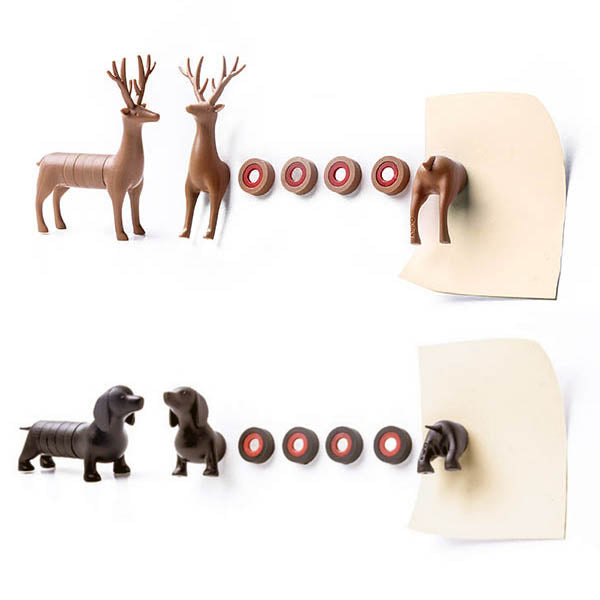 My Deer and Dachshund Magnet