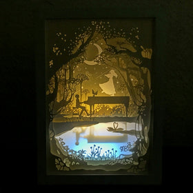 PaperCut Light Shadow Box,🎹 Piano