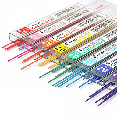 Pilot Color Eno Erasable Lead 8 Colors 0.7mm Pack, All 8 Colors