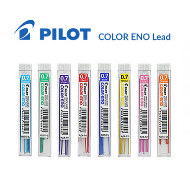 Pilot Color Eno Erasable Lead 8 Colors 0.7mm Pack