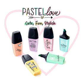 STABILO BOSS MINI Pastellove Highlighter 3 / 6 Pcs Sets