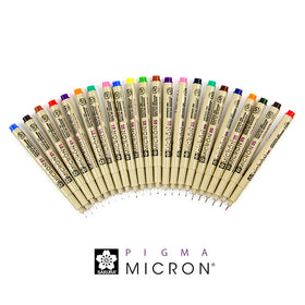 Sakura Pigma Micron Ultra-fine Colored Ink Pen,003 (0.15mm) / Red