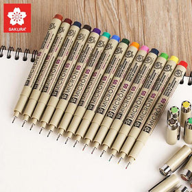 Sakura Pigma Micron Ultra-fine Colored Ink Pen Set