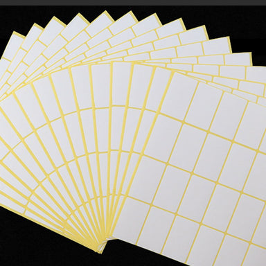 Self Adhesive Sticky White Labels 15 Sheets A5 Pack