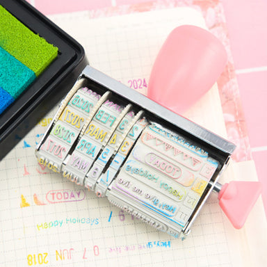 Self-Inking Rubber Date Stamp