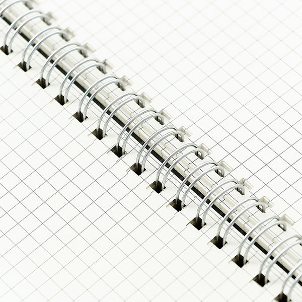 Spiral Bound Notebook Dotted Lined Grid A6/A5/B5