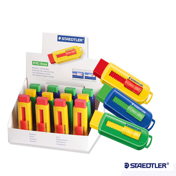 Staedtler Eraser with Sliding Sleeves 525 PS1-S