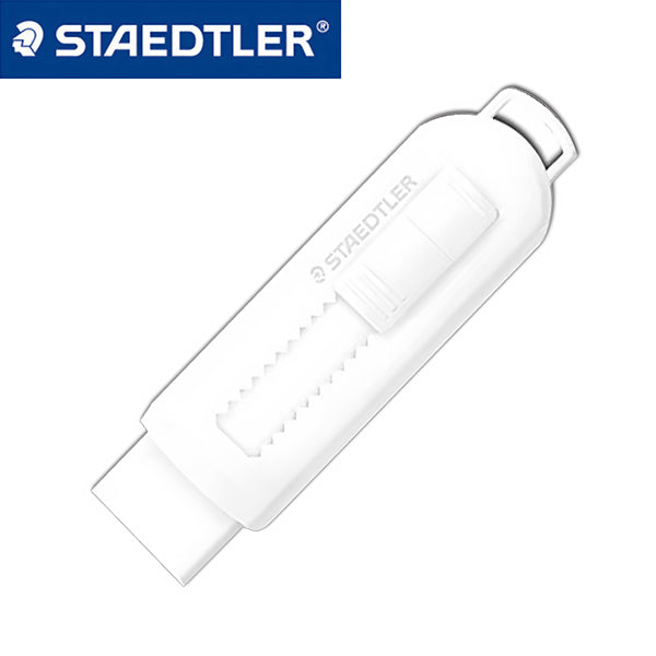 Staedtler Eraser with Sliding Sleeves 525 PS1-S, White