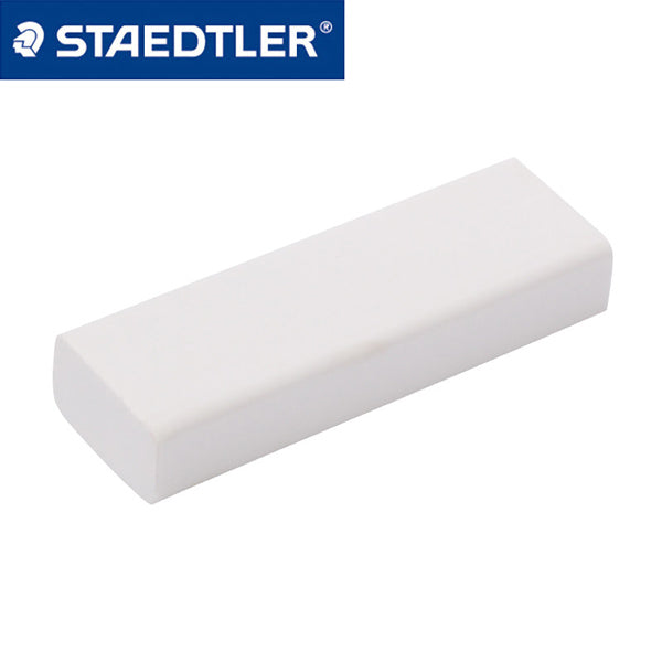 Staedtler Eraser with Sliding Sleeves 525 PS1-S, Eraser Refill (White x 2 Pcs)