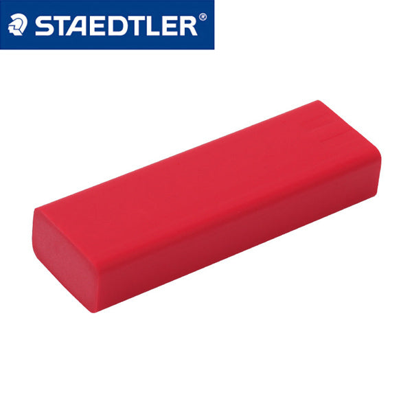 Staedtler Eraser with Sliding Sleeves 525 PS1-S, Eraser Refill (Red x 2 Pcs)