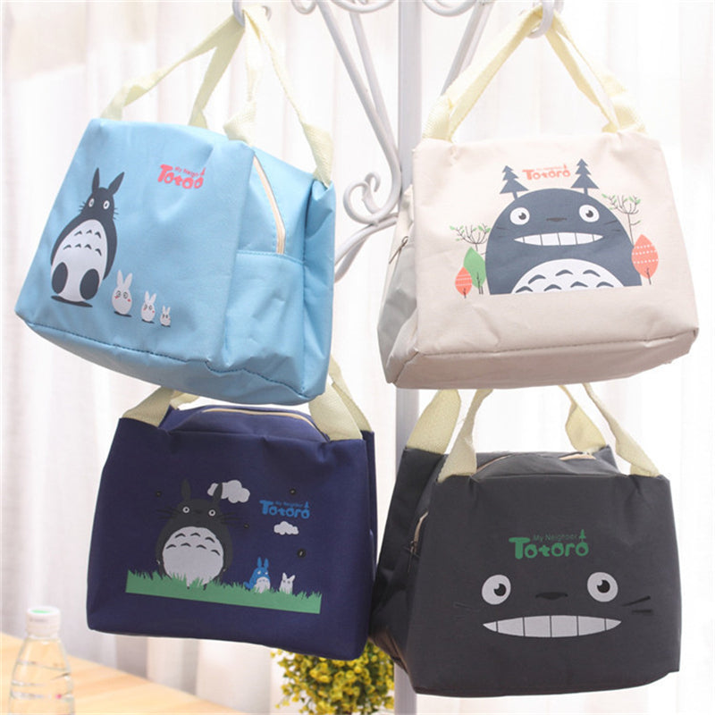 82d17c55645d Totoro Insulated Lunch Bag