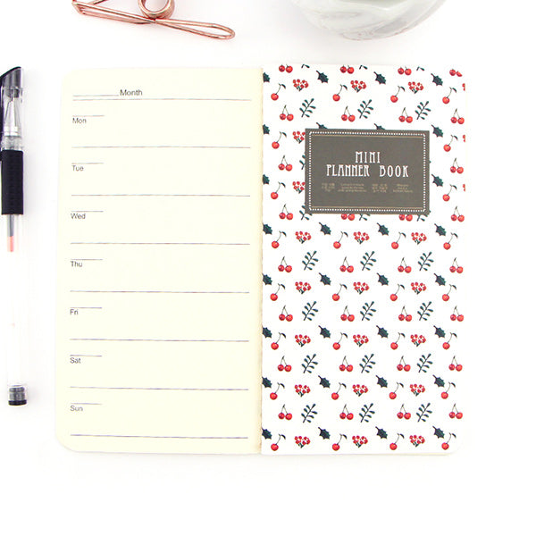 Tiny Blank Page Notebook Planner Pack