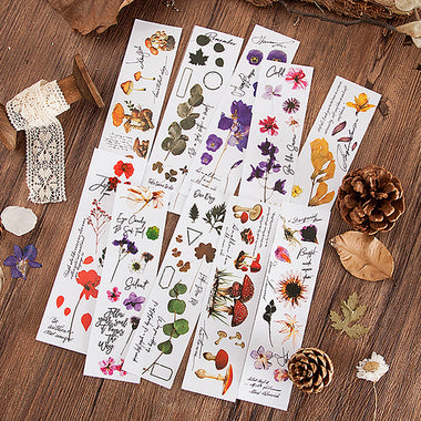Translucent Floral Stickers