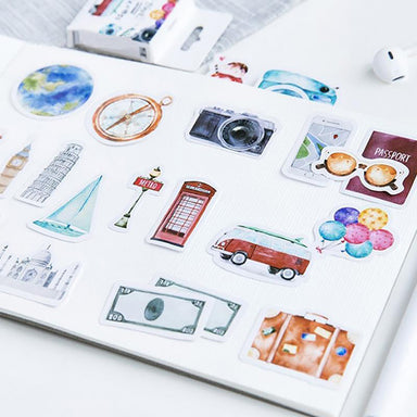Travel Journal Stickers