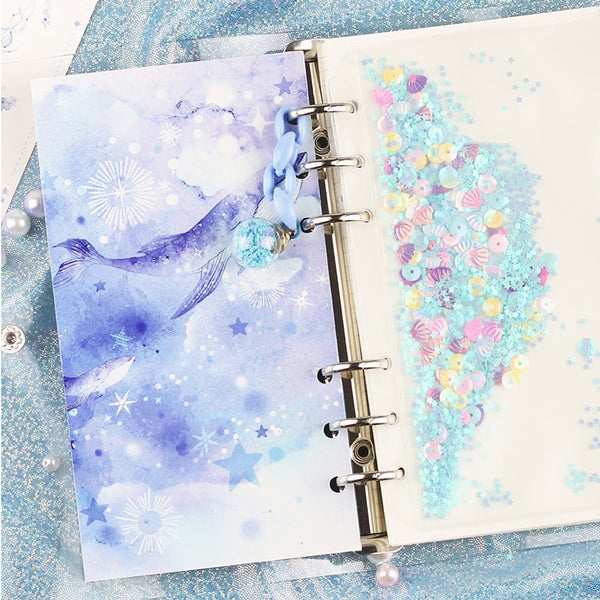 Unicorn Loose Leaf Notebook Binder Bundle