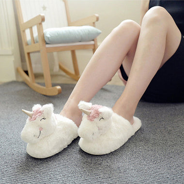 Unicorn Rabbit Slippers