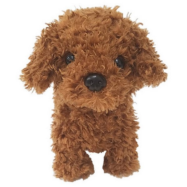 Walking and Talking Puppy Toy Poodle, Cocker Spaniel, Shiba, 🐩Walking and Barking Poodle Brown