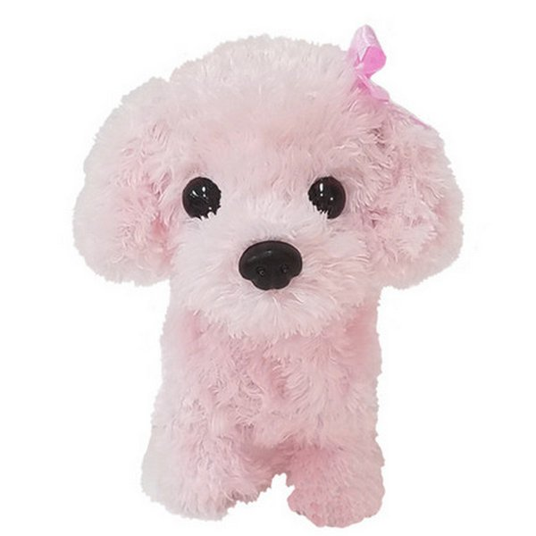 Walking and Talking Puppy Toy Poodle, Cocker Spaniel, Shiba, 🐩Walking and Barking Poodle Pink