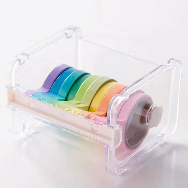 Washi Tape Storage and Dispenser Box