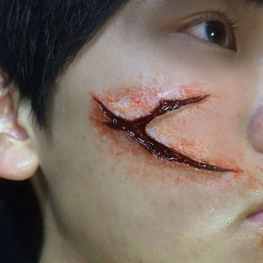Zombie Scratch Makeup Kit (Cross Wound)