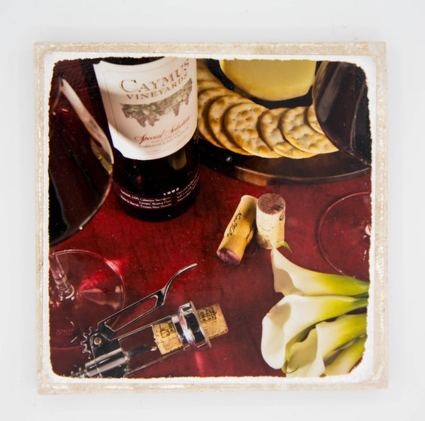 """The Occasion"" Wine Inspired Coaster"
