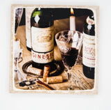 """Everlasting"" Wine Inspired Coaster"