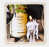 """Exquisite Evening"" Wine Inspired Coaster"