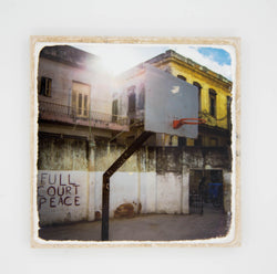 """FCP"" Cuba Travel Inspired Coaster"
