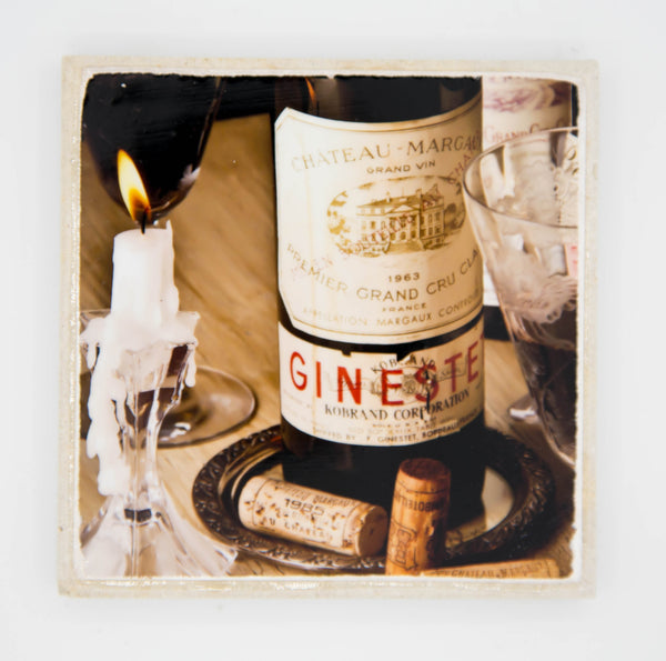 """Grand Cru"" Wine Inspired Coaster"