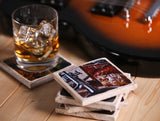 """Whiskey Glasses"" Whiskey Inspired Coaster"