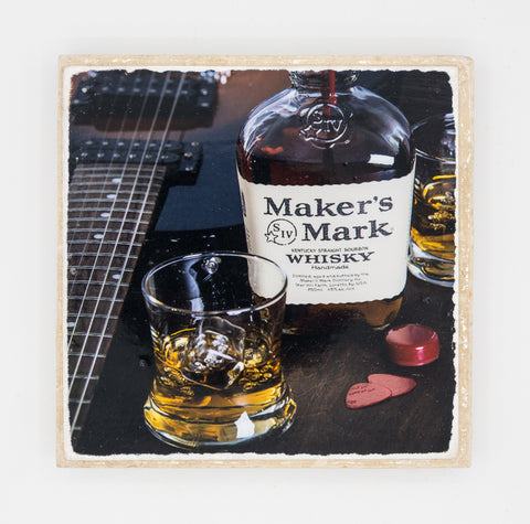 """For Made Men II"" Bourbon Inspired Coaster"
