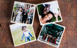 Custom Photo Coasters (Set of 6)