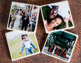 Custom Photo Coasters (Set of 4)