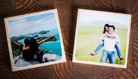 Custom Photo Coasters (Set of 2)