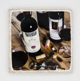 """Primo"" Wine Inspired Coaster"