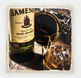 """The James II"" Whiskey Inspired Coaster"