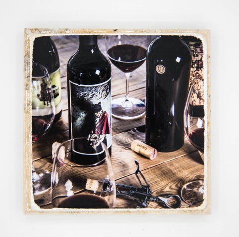 """Pariah II"" Wine Inspired Coaster"