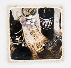 """Pariah"" Wine Inspired Coaster"