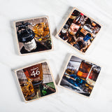 """Staff Pick"" Four (4) Coaster Set"
