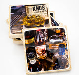 Bourbon Coaster Set