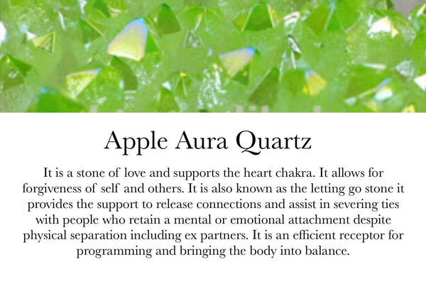 Apple Aura Quartz - GaiaBoheme