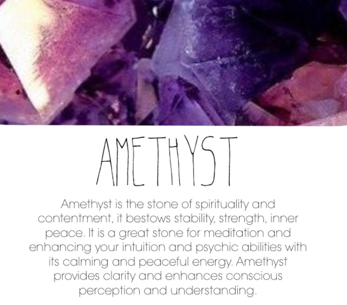 Amethyst & Light Rose Aura Quartz - GaiaBoheme