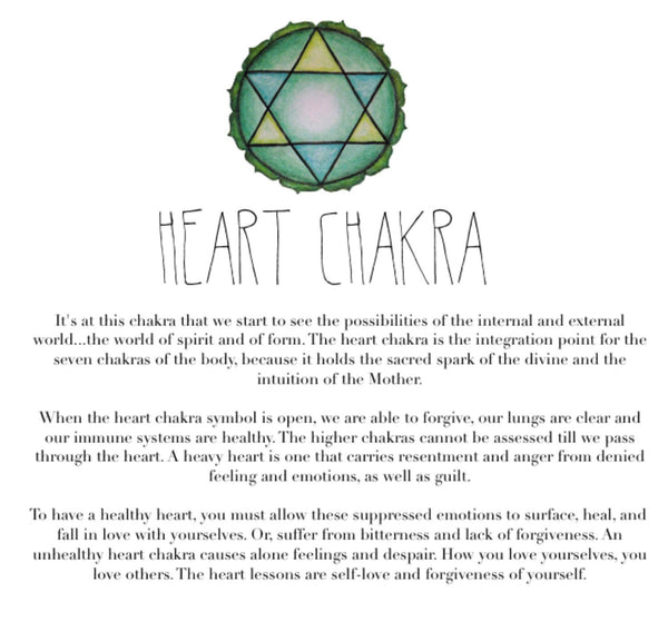 Heart Chakra- Rose Aura Quartz & Apple Aura Quartz - GaiaBoheme