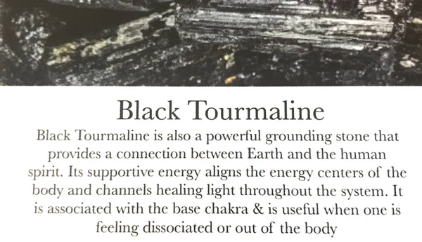 Shamanic -Black Tourmaline  & Angel Aura - GaiaBoheme