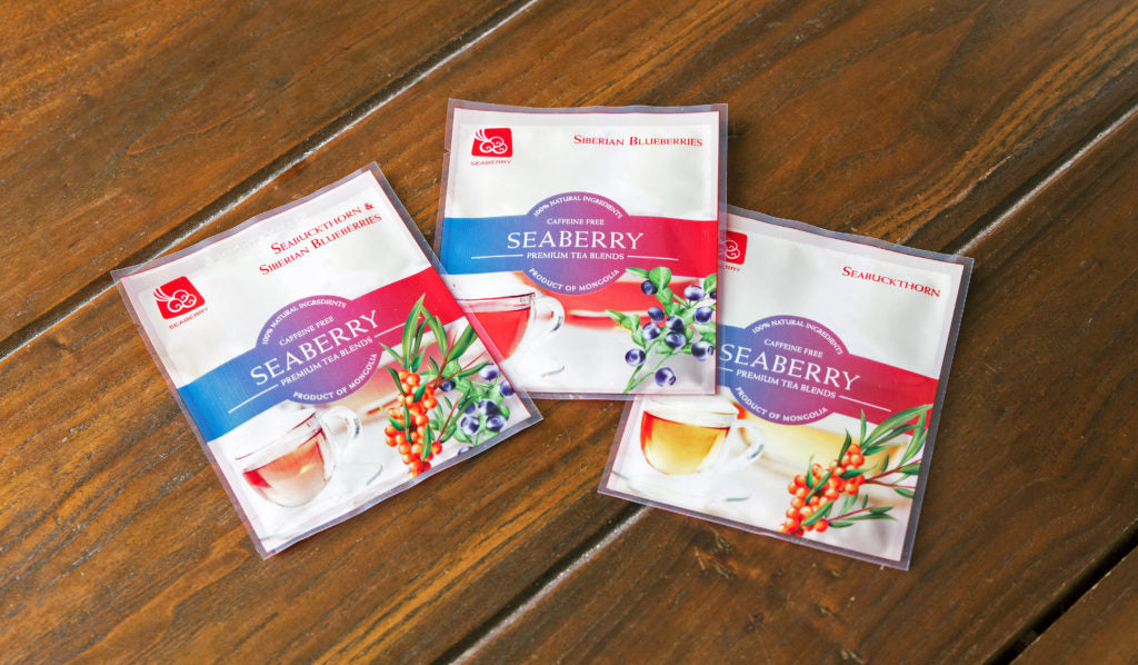 Seaberry tea sachets