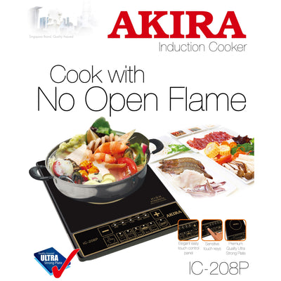 2000W Induction Cooker With Stainless Steel Pot
