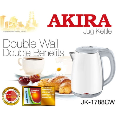 1.7L Cool Wall Jug Kettle